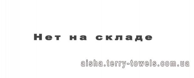 Простынь махровая 200х220 см Aisha Эконом фисташкового цвета 400 г/м2